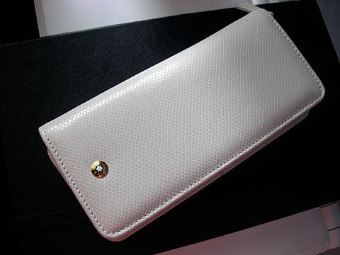 White MontBlanc pen case