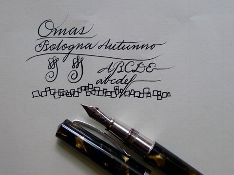 Omas Bologna Autunno, writing sample