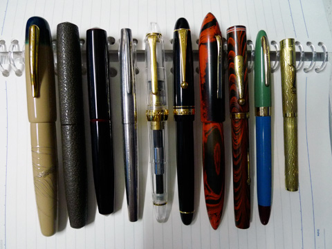 Top Ten Pens, 2008