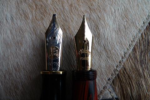 Pelikan M1000 vs Oldwin