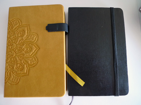 V-book and Moleskine