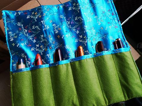 Pen Kimono, with pens