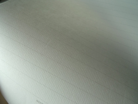 Fountain pen paper - lined