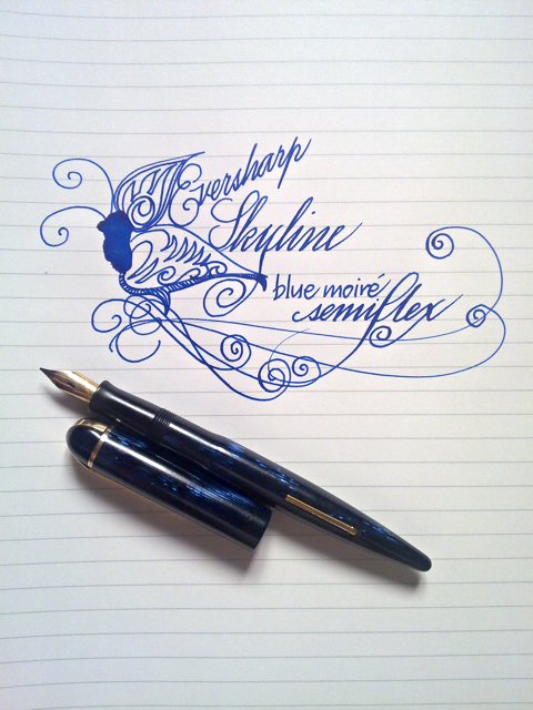 Eversharp Skyline writing sample