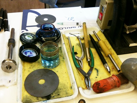 A nibmeister's tools