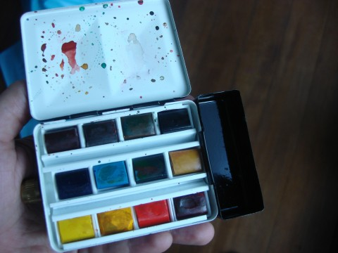 Watercolor box