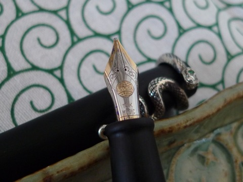Nakaya two-tone music nib