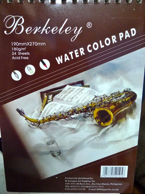 Berkeley watercolor pad