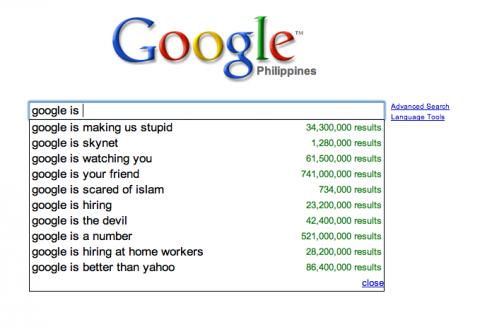 Google: google is