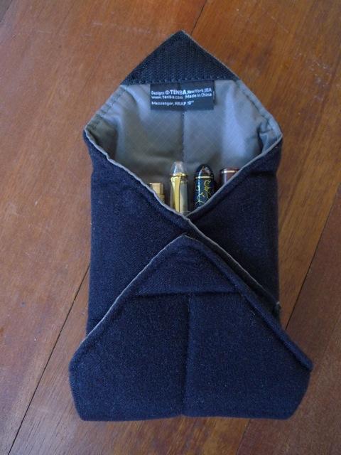 Tenba wrap, folded