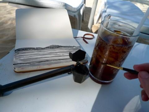 Yatate, Coke Light, brush