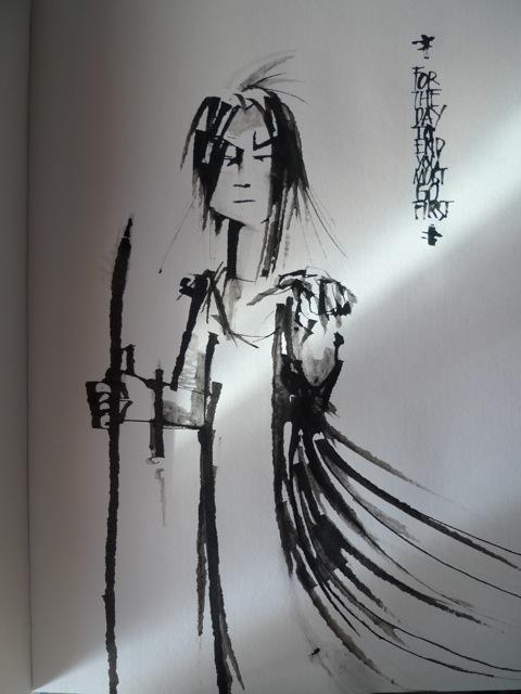 Sketch sample
