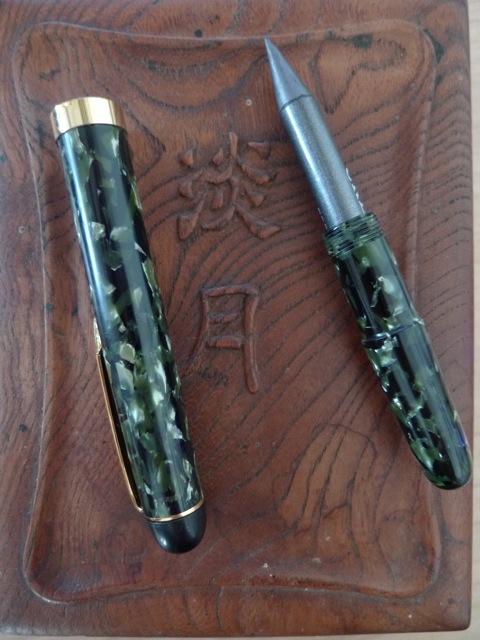 Pencil extender, open