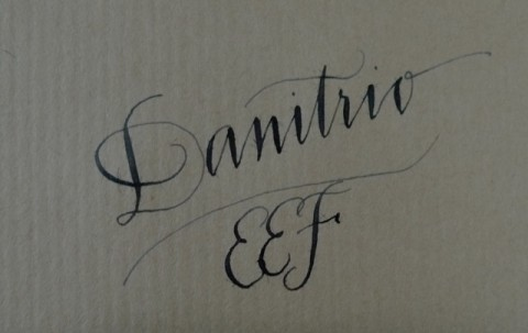 Danitrio eef nib writing sample
