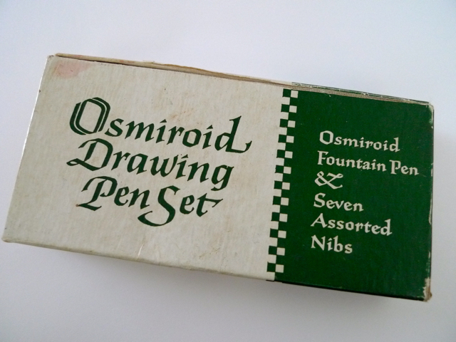 Osmiroid Drawing Pen Set