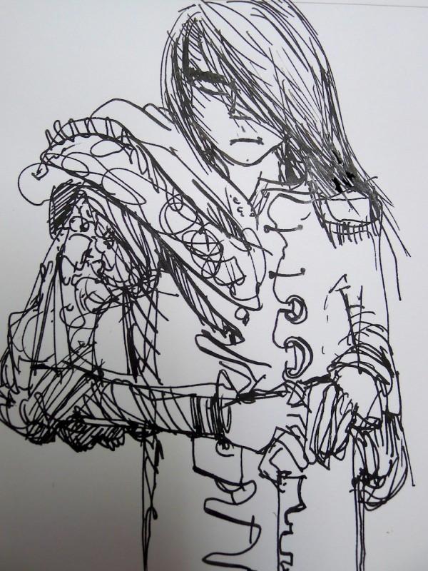Pilot Elabo drawing sample