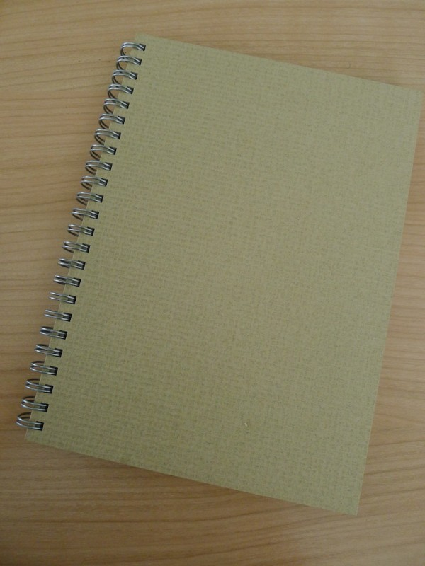 Muji dotted line notebook