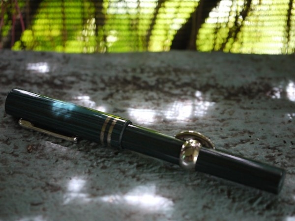 The Stipula Saturno in blue ebonite