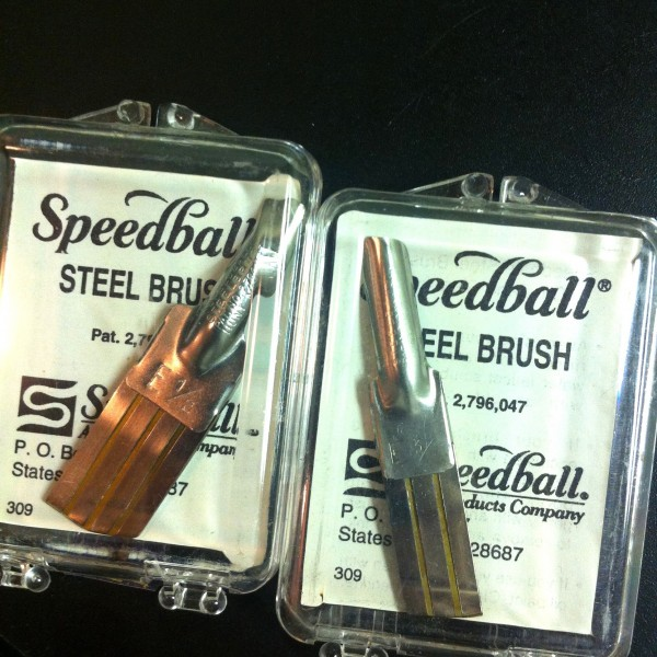 Speedball Steel Brush