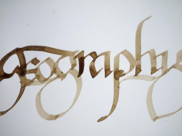 Not gothic, not italic