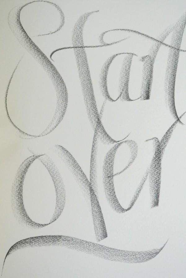 Grafcube calligraphy