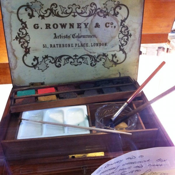 Another antique watercolor box