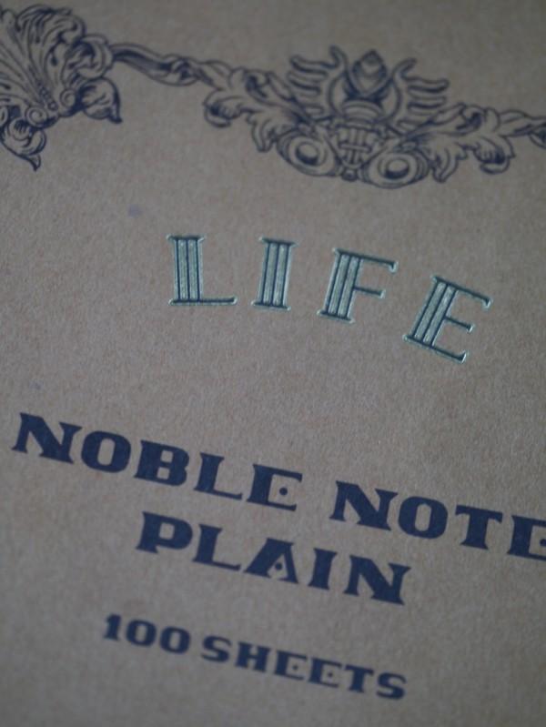 Life Noble Note Plain