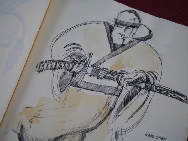 Ink and Earl Grey samurai