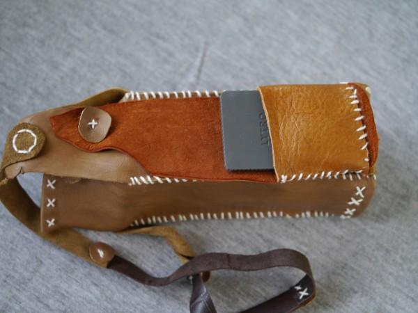 A cap pocket