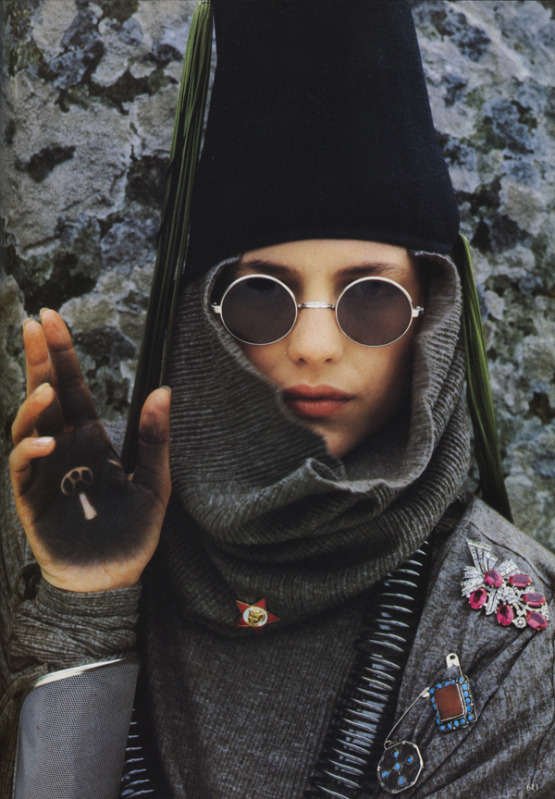 From Vogue Italia September 1984