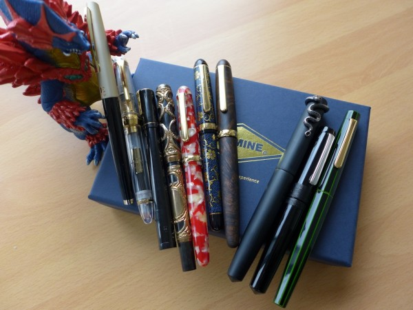 Pens with music nibs