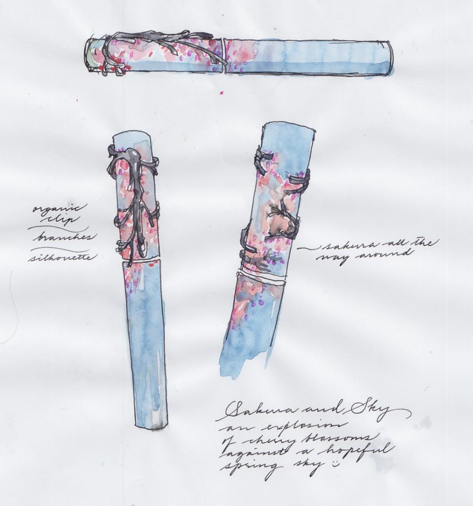 Memory of Spring / Pens 18111