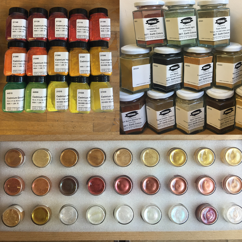 Pigments galore