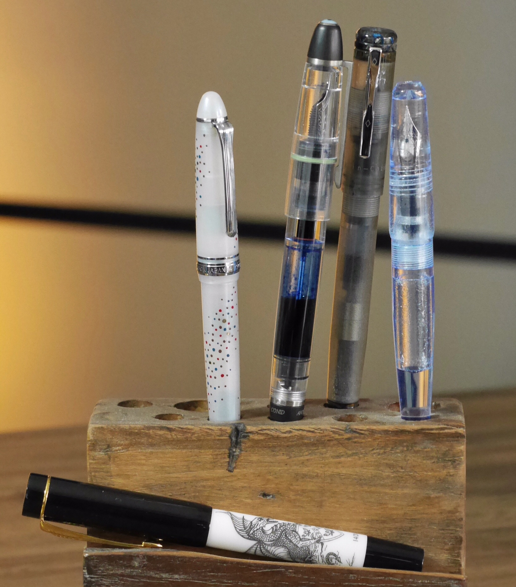 Artisanal, small batch pens