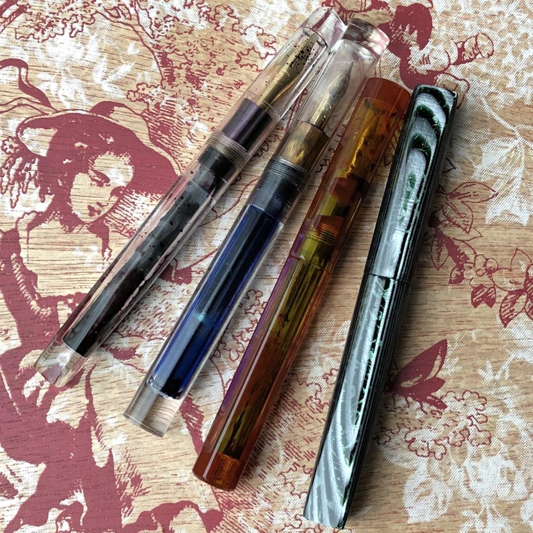 Four Newton Pens