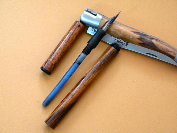 So why a Desiderata pen?